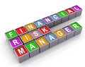 3d FRM - financial risk manager Royalty Free Stock Photo