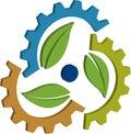3D gear leaf