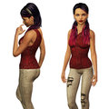 3d girl in casual wear Royalty Free Stock Image