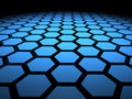 3D Hexagon Hex Hexagons Background Stock Image