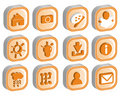 3D Icon Set 2 vector Stock Image