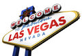 3d Las Vegas Sign, Nevada Royalty Free Stock Photo