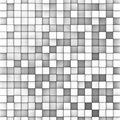 3d mosaic backdrop in shade of gray Royalty Free Stock Photo