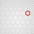 3d Render of an Hexagonal Background Stock Images