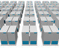 3d server structure