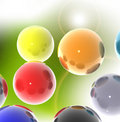 3D spheres Stock Photo