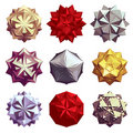 3d stars Royalty Free Stock Image