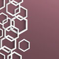 3d stylish geometric background