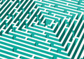 3d vector labyrinth Royalty Free Stock Images