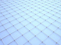 3d wire pattern Stock Image