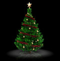 3d xmas tree Royalty Free Stock Photo