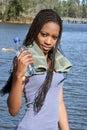 4个中断水 免版税图库摄影