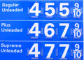 $4 Gas Prices Royalty Free Stock Photo