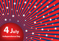 4 July independence day background Stock Photos