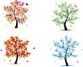 4 Season Trees