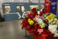 40 th day after the terrorist attacks in Moscow Stock Photos