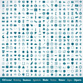 400 various icons symbols and design elements Stock Photo