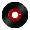 45 rpm record Royalty Free Stock Photo