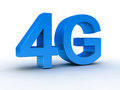 4G latest wireless communication Stock Photography