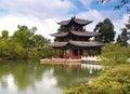 4瓷lijiang公园风景 免版税库存图片