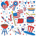 4th July Royalty Free Stock Image
