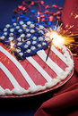 4th of july cake Royalty Free Stock Photo