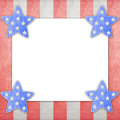4th of July independence day on note paper Royalty Free Stock Images