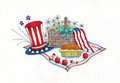 4th of July Picnic Royalty Free Stock Photo