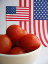 4th July Tomatoes Stock Images