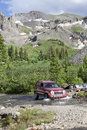 4WD Rocky Mountains Colorado Royalty Free Stock Photo