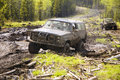 4x4 Mud Bogging Royalty Free Stock Photos