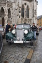 5. Classic Rally in Regensburg Stock Photo