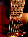 5 String Bass Guitar Royalty Free Stock Photo