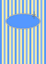 50's Retro Blueberries & Cream Candy Stripes Stock Photos