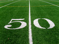 50 Yard Line (2) Stock Images