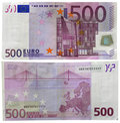 500 euro Stock Image