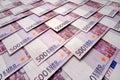 500 Euros background Royalty Free Stock Photo