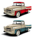 50s styles pickup Royalty Free Stock Photos