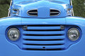52 Blue Grill Pickup Royalty Free Stock Photo