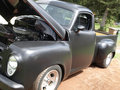 53 studebaker pickup. Royalty Free Stock Photography
