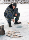 The 5th Baikal Fishing Royalty Free Stock Photos