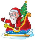 6 jul claus santa Royaltyfria Foton