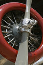 AT-6 Texan Propeller and Engine Royalty Free Stock Photos