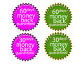 60DaysMoney Back Royalty Free Stock Images