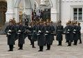 7 guard kremlin moscow Fotografia Royalty Free
