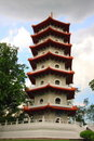 7-storey Pagoda Royalty Free Stock Photos