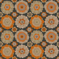 70's wallpaper pattern Stock Image