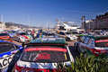 79th Rally de montecarlo , centenary' edition Royalty Free Stock Photography