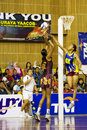 7th Asian Netball Championship Action (Blurred) Royalty Free Stock Photo