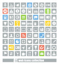 81 Web application icons Royalty Free Stock Photography